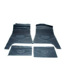 Legendary Auto Interiors Chevelle Floor Mats, Dark Blue, 1968-1972