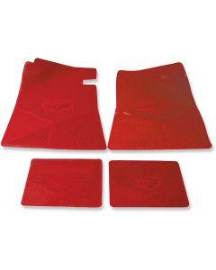 1968-1972 Legendary Auto Interiors Chevelle Floor Mats, Chevelle, Red