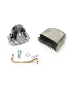 Chevelle Carburetor Choke Kit, Small Block, Divorced, For Performer Intake Manifolds, Edelbrock, 1964-1972
