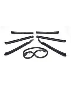 Chevelle Convertible Top Weatherstrip Kit, 1966-1967