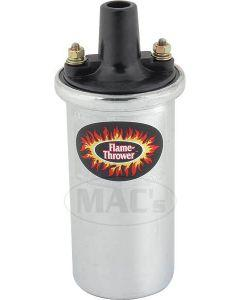 Flame Thrower Ignition Coil - Chrome - V8