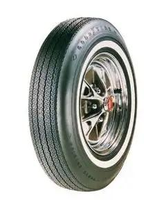 Tire - 695 x 14 - Dual 3/8 Red Line - Goodyear Power Cushion