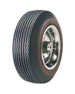 Tire - F70 x 14 - .350 Red Line - Goodyear Custom Polyglas