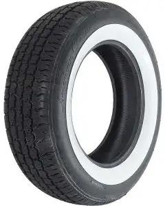 Tire - P215/70R16 - 2-1/4 Whitewall - Radial - American Classic