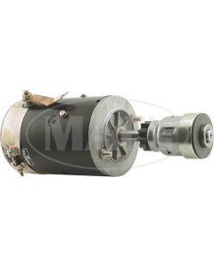 Starter - New With A Modern Bendix Starter Drive Installed - 6 Volt - Ford V8