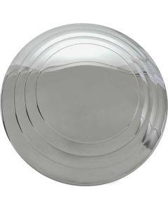 Hub Cap - Smooth Hub 3 Ring - Stainless Steel - 5-3/4 - Ford Passenger