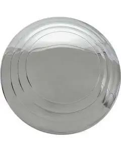 Hub Cap - Smooth Hub 3 Ring- Stainless Steel - 5-3/4 - FordPickup Truck