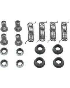 Ford Pickup Truck Disc Brake Hardware Kit - Dual Piston Calipers - 2-Wheel Drive - F250 Thru F350
