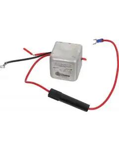 "Power Inverter - Positive To Negative Ground, 6 To 12 Volt - 1-3/4"" Cube -3.5 To 5 Amps Output"