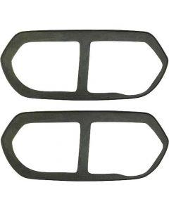 Ford Pickup Truck Door Handle Trim Plate Gaskets - Rubber