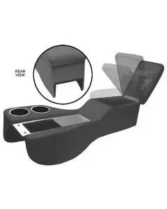1964-1967 Mustang Saddle Cruiser Center Console for All Cars with Console, Black