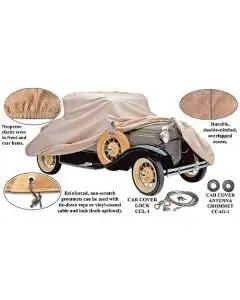 Model A Ford Car Cover - Poly-Cotton - Cabriolet