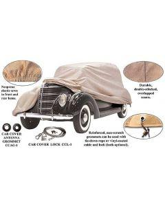 Car Cover - Poly-Cotton - Ford Sedan