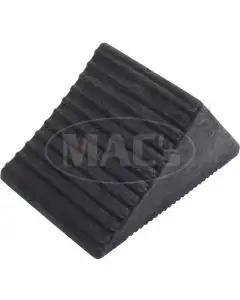 Set Of 4 Wheel Chocks, Rubber