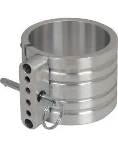 "Fire Extinguisher Mounting Clamp, Billet Aluminum, 3"" Diameter"