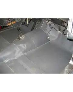 1955-1957 Ford Thunderbird Floor Insulation Kit, KoolMat®, 8 Pieces