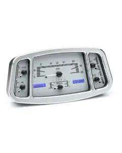 Ford Dakota Digital VHX Instrument With Silver Alloy Style Face, 1933-1934