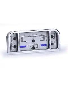 Ford Dakota Digital VHX Instrument With Silver Alloy Style Face, 1937-1938