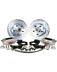 "1964-1973 Mustang Rallye Series Front Disc Brake Conversion Kit for 15"" Wheels"