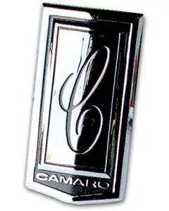 Camaro Header Panel Emblem, Show Correct, 1970