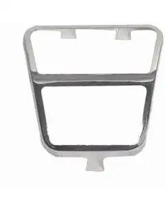 1972-1981 Camaro Clutch Pedal Pad Trim, Stainless Steel