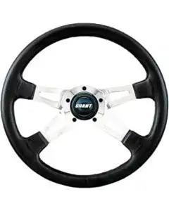 Camaro Steering Wheel, Collector's Edition, Black, Grant, 1970-1988