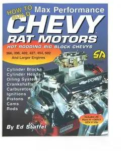 How To Build Max Performance Chevy Rat Motors Book