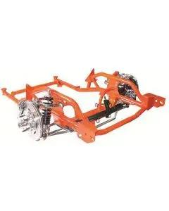 Suspension Assembly, Front End, Complete IFS, Firebird, 1967-1969