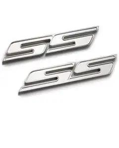 2010-2013 Camaro Emblems, Chrome SS