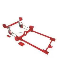 Subframe Assembly, Rear End, 4-Link & Track Bars, Nova, 1962-1967
