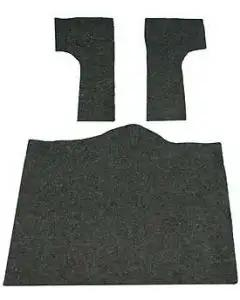 Auto Custom Carpet, Jute Carpet Backing, Rear| 11007-68 Corvette 1968-1977