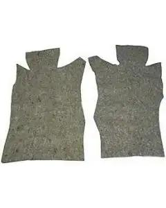 Auto Custom Carpet, Jute Carpet Backing, Front| 3609-65 Corvette 1965-1977