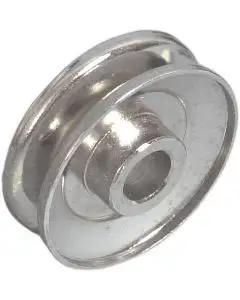 1970-82 Chrome Alternator Pulley With Air Conditioning 350ci