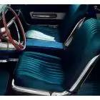 Super Saver Interior Kit 2, Galaxie 500XL, Hardtop, With Bucket Seat, 1963