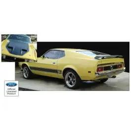 1971-1973 Mustang Mach 1 NASA (NACA) Hood Paint Stencil Kit