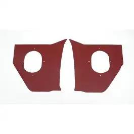 Full Size Chevy Kick Panels, Red, 1959-1960
