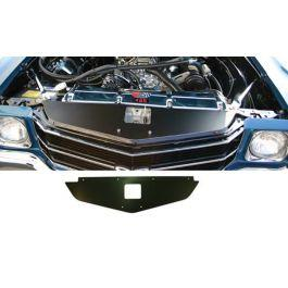 Chevelle Radiator Support Custom Cover Black 1971 and Chevelle engraved