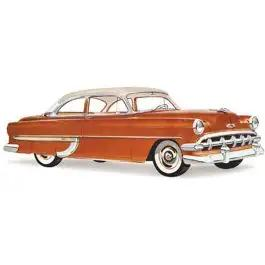 Chevy Windshield, Tinted, 2 & 4-Door Sedan, Club And Business Coupe, And Sedan Delivery, 1953-1954