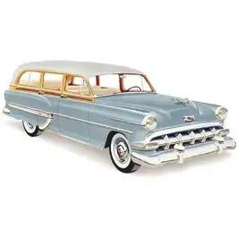 Chevy Windshield, Clear, Station Wagon, 1953-1954