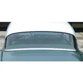 Chevy Rear Glass, Clear, Sedan, 1953-1954