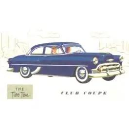 Chevy Rear Glass, Clear, 150 Sedan & Coupe, 210 Coupe, 1953