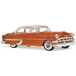 Chevy Door Glass, Tinted, 2-Door Sedan, Club And Business Coupe, 1953-1954