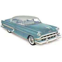 Chevy Rear Door Glass, Clear, 4-Door Sedan Except '54 Deluxe, 1953-1954