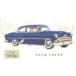 Chevy Sliding Quarter Glass, Tinted, 210 Club Coupe, 1953