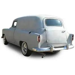 Chevy Liftgate Glass, Clear, Sedan Delivery, 1953-1954