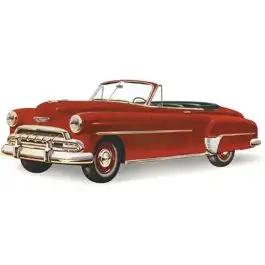 Chevy Vent Glass, Clear, Hardtop And Convertible, 1949-1952