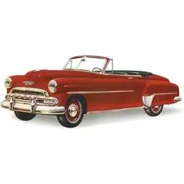 Chevy Vent Glass, Tinted, Hardtop And Convertible, 1949-1952