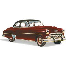 Chevy Quarter Glass, Clear, 210 Sport Coupe, 1949-1952