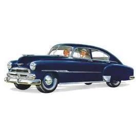 Chevy Open Vent Glass, Clear, Fleetline 210 4-Door Sedan, 1949-1951