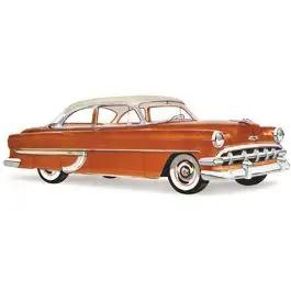 Chevy Door Glass, Clear, 2-Door Sedan, Club And Business Coupe, 1953-1954